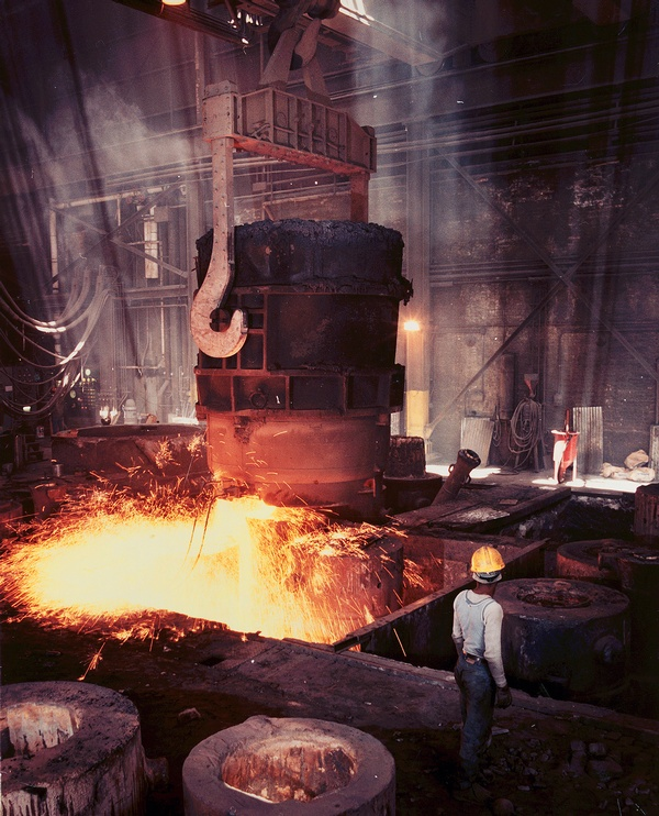 General Steel Mill - Foundry Process