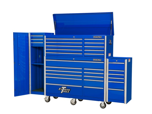 Large Professional Tool Cabinet Shot on Location