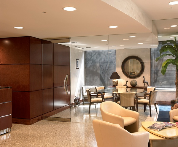 Lobby-Reception area architectural Interior