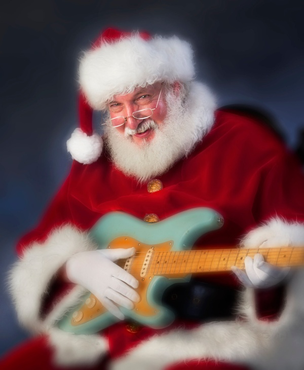 Model Composite photograph for professional Santa
