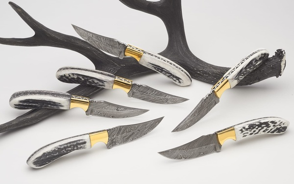 GTM Damascus Knives